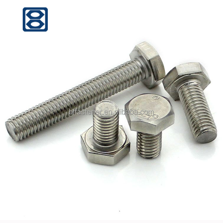 Hex bolt M16/bolts and nuts/DIN933&DIN931/machine bolt/bolt and nut ,hex bolt hex head bolt Hex Bolts Wholesale hex bolt 4.8