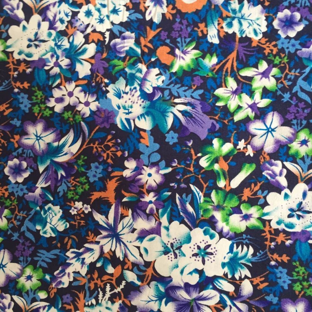 2015 new style super soft fabric for baby,floral print fabric,fabric flowers for dresses