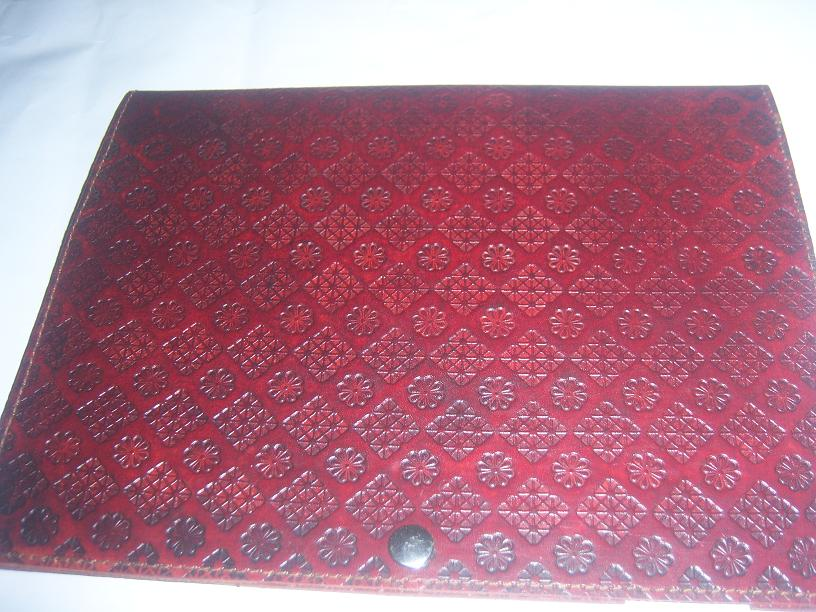 Leather Embossed Handmade I Pad Covers