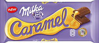Milka Caramel with Filling 100g