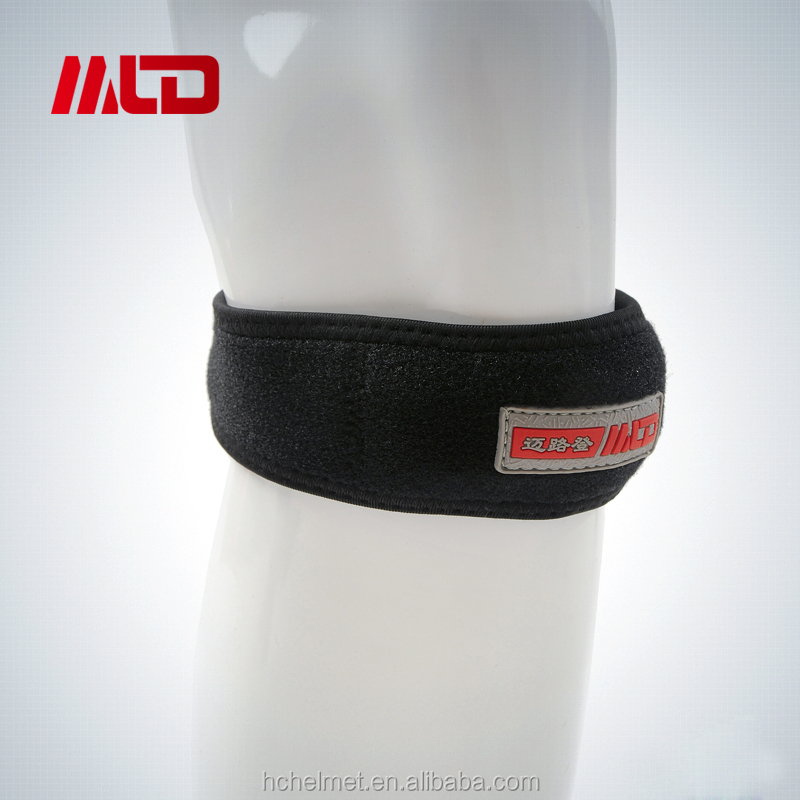 Hot Sell Compression Black Sport Knee Bandage For Knee Ankle Support Protector With OEM Service