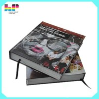 Factory sewing binding thickness coffee table hardcover book printing