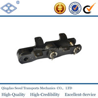 steel long pitch 152.4 large roller type sugar mill offset bar bagasse industrial carrier conveyor drag roller chains