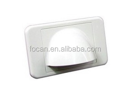 BullNose wall plates For cable