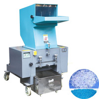 low noise powerful recycling plastic bottle / film crusher machine for sale