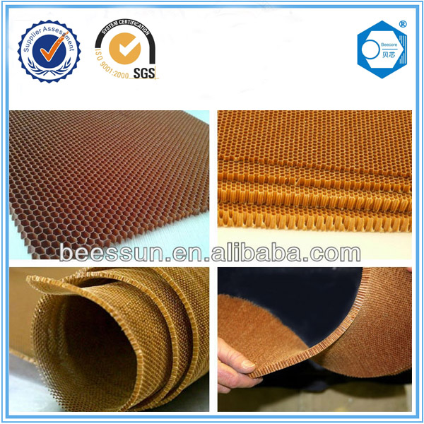 BEECORE fireproof waterproof lightweight nomex honeycomb core sandwich panels