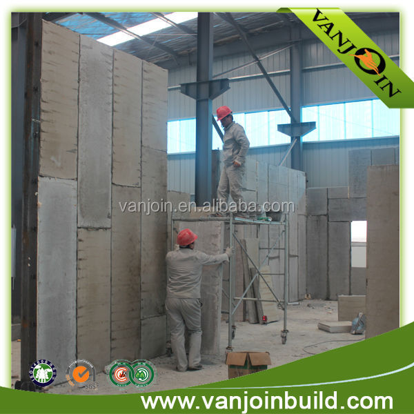 EPS sandwich wall panel modern design prefab office building in Iraq