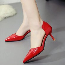 X60557A Full Season Daily Women Shoes High Heels Female Office Shoes