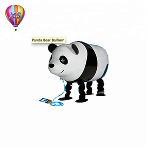 2016 new design walking animal foil balloon with famous charater or customer required helium balloon for children's toy