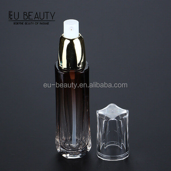 Cosmetic cream bottle lotion glass bottles wholesale 50ml