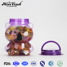 Super Taste Sugar surprise bag toy candy in purple koala jar