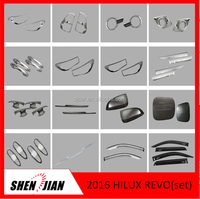 2016 Toyota Hilux Revo ABS plastic Car Accessories Chromed Set For Toyota Hilux 2015 Revo,toyota hilux 2016 car accessories