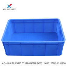 China supply stackable plastic vegetable crates