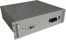 "2U; 19"" Rack Type 48V15Ah LiFePO4 Battery; Telecom Base Lithium ion Battery 48V15Ah; RS232/RS485 Communication Protocol;"