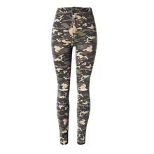 Hot sale fashion breathable casual skinny cool camouflage jeans