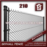 Good Quality PVC Coated Chain Link Fence For Road