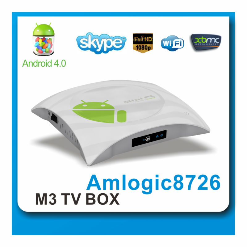 HDMI cortex A9 internet tv box with Android 4.0 TV Box