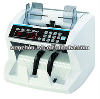 Heavy Duty Front Loading Currency Note Counter with UV+MG+IR+DD detection EU-9100T Money Counting Machine