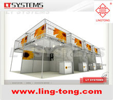 Customized Display Booth from LING TONG EXHIBITION SYSTEM
