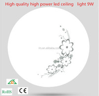 High quality high power led ceiling light 9W