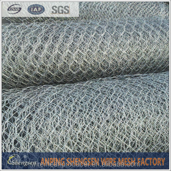 Hexagonal retaining wall wire netting/poultry netting chicken wire mesh fixing hot sales(special manafacturer)