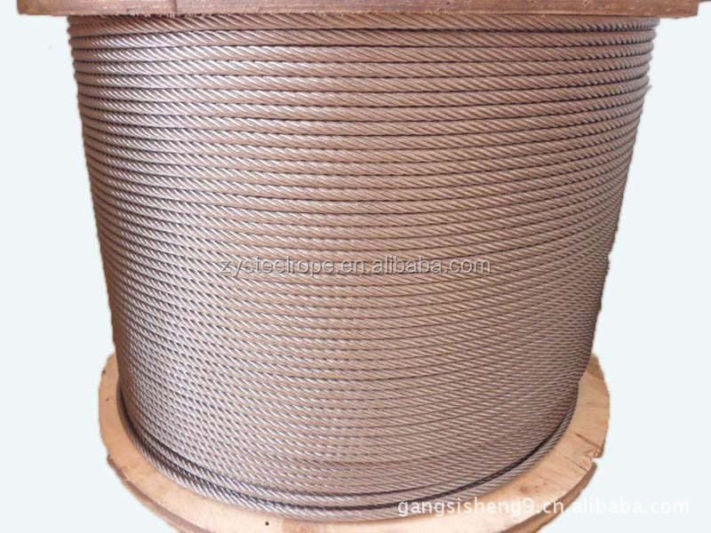 high quality prestressed concrete 12mm PC strand, steel wire rope