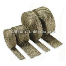 DEI Titanium Exhaust Header Heat Wrap with STAINLESS TIES