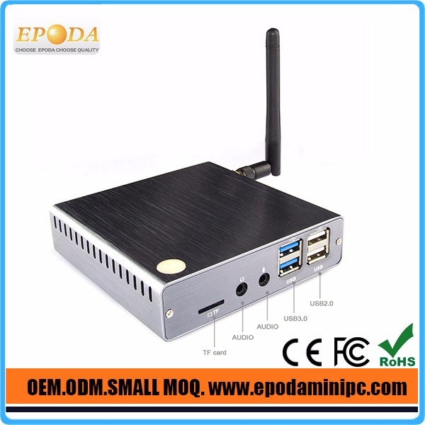 Win 10 Mini PC 2GB RAM 32GB ROM Intel Atom Z8300 inside 1.84GHz Windows 10 TV Box Bluetooth 4.0 HDMI