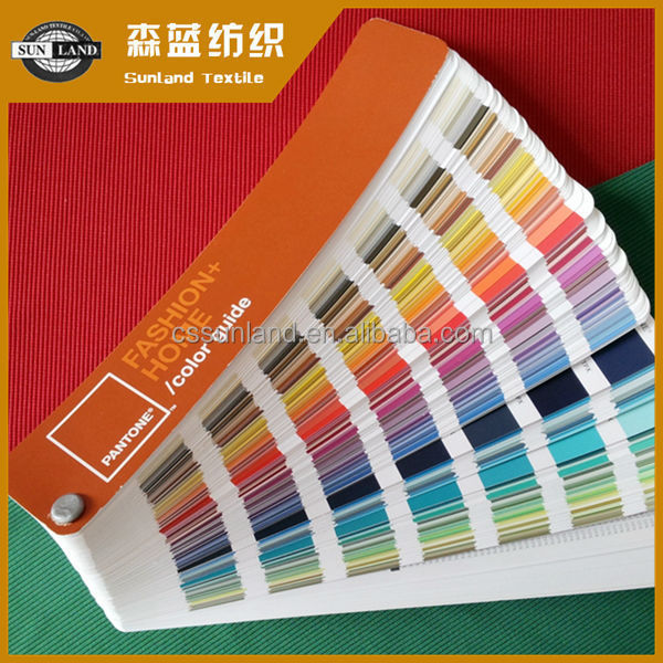 pantone color 100 polyester rib knit fabric for sports