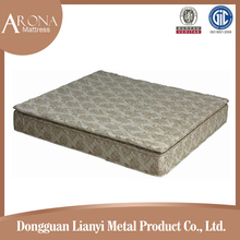 Promotional superior qualitly comfortable cheap bed compressed spring mattress from China