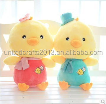 Professional custom 100% Lovers chicken stuffed plush toy for sale