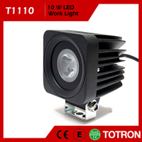 IP67 Waterproof 24V/12V 10W LED work light for Motorcycle,Offroad,ATV,4x4,Jeep,Truck,Wheelchair,Car