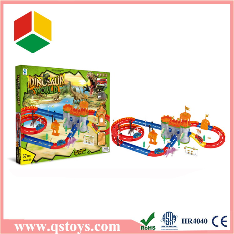 2016 eco-friendly design kids toy cars race track for boys in hot market