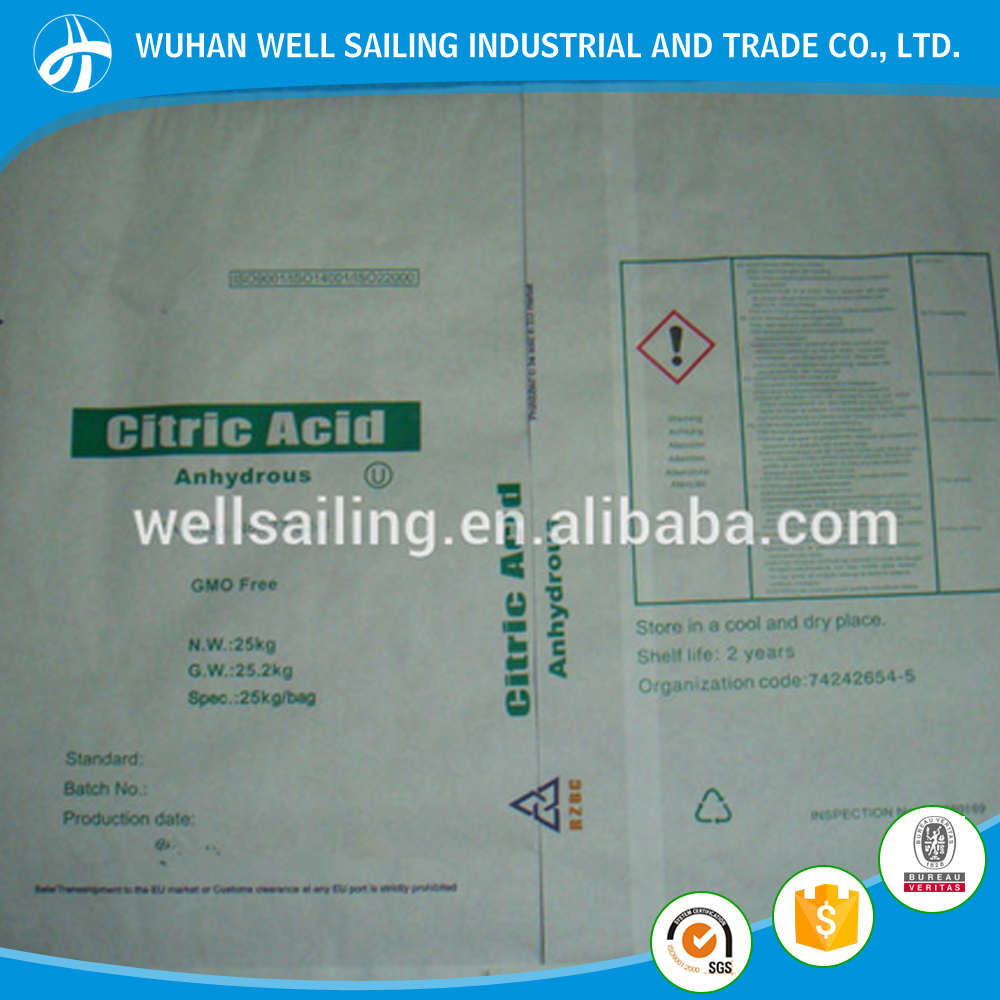 citric acid monohydrate and citric acid anhydrous price