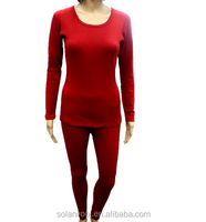 Ladies' Merino wool Blouses &Tops Underwear Suit