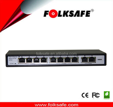 Marvell chipset 120Watt budget Marvell chipset 120Watt budget 8 port IEEE 802.3 af/at PoE switch with 2 uplinks