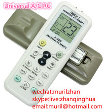 White 15 Rubber Keys K-1028E 1000 in 1 UNIVERSAL A/C REMOTE CONTROL High Quality Air-conditioner controllers