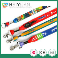 Promotion professional custom cheap printing lanyard no minimum order