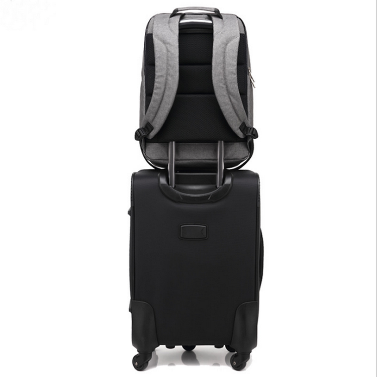 Business laptop backpack anti-theft backpack with charging port