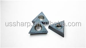 triangle carbide insert TCMT110308 with 0.8 tip radius
