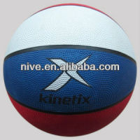 Official size 7 cheap rubber basketball