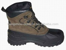 Mens Thinsulate Suede synthetic leather Snow Boots