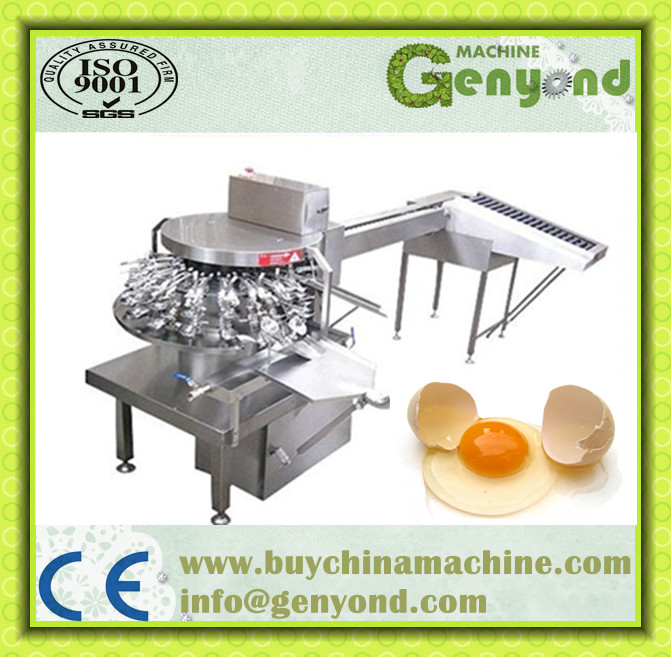 Pasteurized egg liquid breaking/egg white separating/egg yolk separator machine