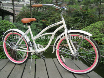 26inch professional beach cruiser bike