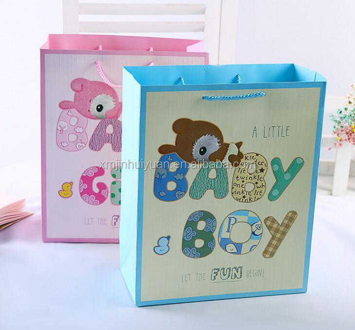 Holiday Easter Christmas Baby Gift Toy Packing Shopping Paper Bag