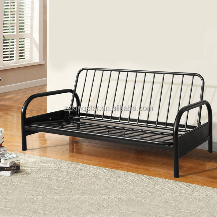 Foldable metal folding sofa cum bed designs