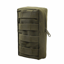 Outdoor 600D oxford molle system waterproof tactical military hanging waist cell phone bag