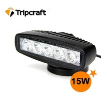 On sale 5.5'' 15W LED WORK LIGHT IP67 4x4 Led Work Light widely used cars exterior