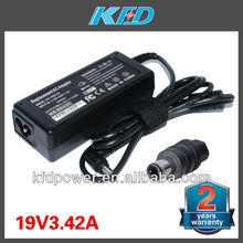 OEM 19V 3.42A EU AC Adapter For Toshiba N193 V85 R33030 Laptop Power Supply Charger