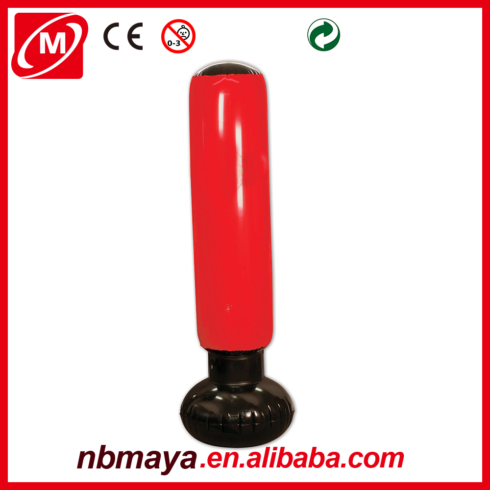 hot selling custom inflatable free standing Punching bag with water fill base for stability